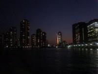 通勤途中(夜)