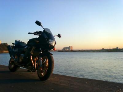 江戸川沿い